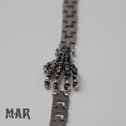 Skeletthand-Armband
